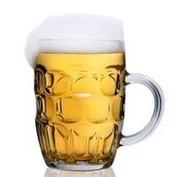 beer mugs, glass mug, drinking glass cup, glass handle cup