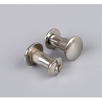 male and female screw leather chicago screws