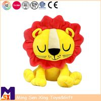 ICTI Factory Custom Stuffed Animal Toy Soft Plush Lion Toy
