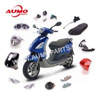 Piaggio Scooter Fly50 Fly125 Complete Plastic Bodywrok Kit Body Cover Parts thumbnail image