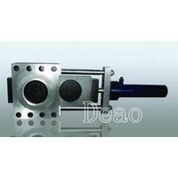 Single-plate hydraulic screen changer