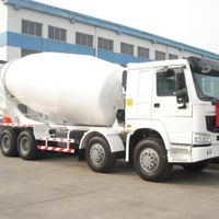 Truck-mounted concrete mixer  8M3