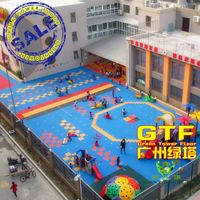 Durable PP Interlocking Sports Flooring for Kindergarten Playground thumbnail image