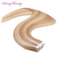 Hot Selling Mini Tape on Natural Human Hair Extension thumbnail image