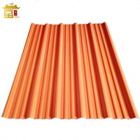 Anti-Corrosion APVC/UPVC/PVC Corrugated Plastic Roof Sheets For Industrial Building