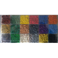EPDM color granule for synthetic sports surface