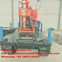 New Condition Geological Hydraulic Core Drilling Rig for Soil Investigation thumbnail image