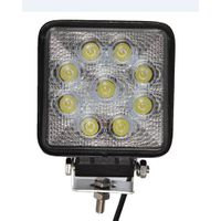 9pcs 3w Epistar chips led work light
