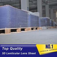 20 lpi lenticular sheet flip lenticular lens 3d flip lenticular sheet factory
