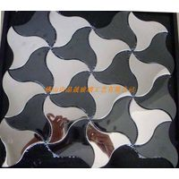metal mosaic and silver stainless steel tile jsm-802