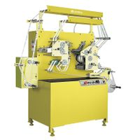 Satin Ribbon Label Printing Machine/Flexo Fabric Label Printing Machine (2Colors+1Color) JR-1521 thumbnail image