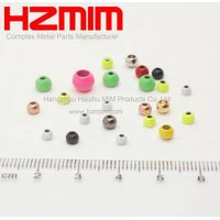 Colourful Metal injection molding MIM Part for Metal Ball of Decoration