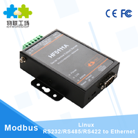Linux ethernet rs485 converter RS232/RS485/RS422 to Ethernet Converter