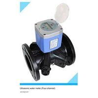 Large diameter ultrasonic water meter