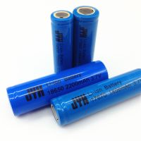 Long cycle life 18650 2200mah li-ion Rechargeable battery pack