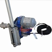 Agriculture Electric Roll Up Film Motor DC24V 100W/120W   Electric Roll Up Unit for greenhouse