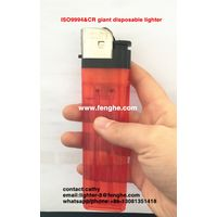 FH-218 super big jumbo lighter disposable flint cigarette gas lighter