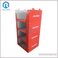 Wholesale Corrugated Cardboard Stacker Display Stand for Clothes/ Socks/ Pants thumbnail image