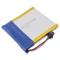 lithium polymer batteries cell 807075 3.7V 5000mAh for GPS, MP3, MP4, PDA,tablet pc,medical device thumbnail image