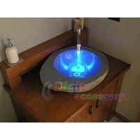 LED Water Temperature Shower Faucet Light Sensor thumbnail image