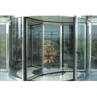 Three-wing or four-wing automatic revolving door