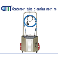 oil less tube cleaner for cleaning tubes pipes easy operate trolley tube cleaner CM-V thumbnail image