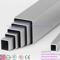 thin wall rectangular aluminum tube 6mm aluminum square oval pontoon tube