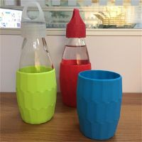 350ml/12 oz glass drink bottle for beverage ,milk