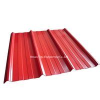 trapezoidal PPGL roofing sheet