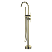SS304 Fyeer Conceal Wall Rainfall Shower Tap with Waterfall