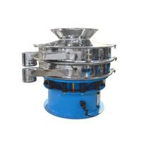 Automatic Stainless Steel Separator Wet Liquid Round Vibrating Sieve Shaker Machine Manufacturers thumbnail image