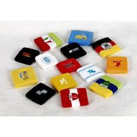 knitted sports sweatband with embroidery thumbnail image