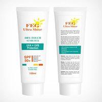 FEG Ultra Sheer sunscreen cream SPF50+ sunblock