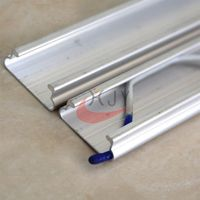 Greenhouse Film Aluminum locking Channel Lock Profile  thumbnail image