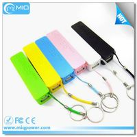 UL Rohs portable power bank 2600mah for samsung smart phones