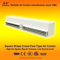 Square cross-flow type air curtain (air door) FM-1.5-15 plus