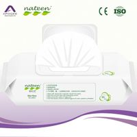 hand and face cleaning wet tissue paper baby wipes