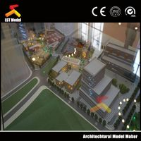 Residential and Commercial house building architectural model
