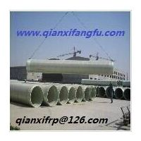 RP FRP Mortar Pipe / GRP FRP Mortar Pipe with sand filled