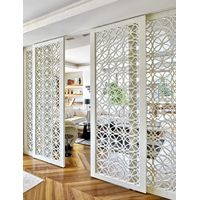 """ practical special design carved aluminum partition wall"""