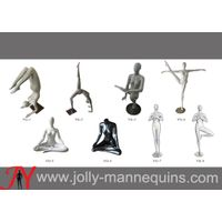 Jolly mannequins-Fashionable fiberglass female mannequins,YOGA mannequins collection ,sports mannequ