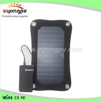 Manufacturer supply 6.5W high efficiency solar charge pack thumbnail image