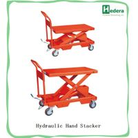 150kg hand scissor lift table