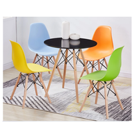 Lounge Plastic Chair Shell Chair for Living Room or Dining Room