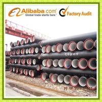 Tianjin Ductile iron pipes & fittings comply with ISO 2531/BS EN 545/598 thumbnail image