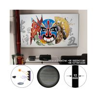 Ambient light rejecting ALR thin frame 84 92 100 inch projection screen for WEMAX One UST projector thumbnail image
