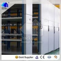 Save cost of warehouse Manual compactor file racking system