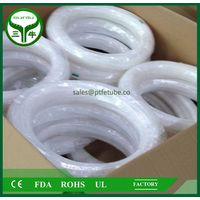 100% Virgin PTFE Tube , ptfe convoluted tube pipe hose tube / suniu