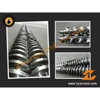 Tungsten Carbide Hard-Chrome Conical Twin Screw Barrel