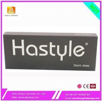 Hastyle pure hyaluronic aicd derm filler derm deep for breast enchance